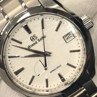 グランドセイコー(Grand Seiko)のGRAND SEIKO スプリングドライブ マスターショップ限定 美品(腕時計(アナログ))