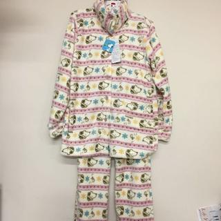 スヌーピー(SNOOPY)のスヌーピーだらけの ふわふわ パジャマ Lサイズ(パジャマ)