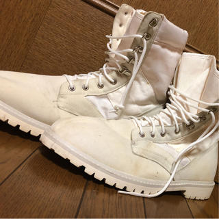 ロスコ(ROTHCO)のロスコ ブーツ ホワイト 3代目 登坂広臣(ブーツ)