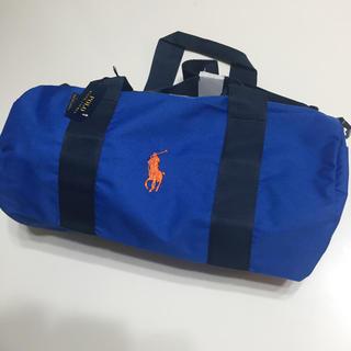 ポロラルフローレン(POLO RALPH LAUREN)の新品ラルフローレンボストンバッグブルー(ボストンバッグ)