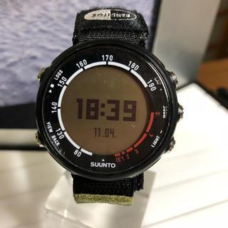 スント(SUUNTO)の【GPS POD付】スント T3C 心拍トレーニングウォッチ(腕時計)
