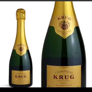 クリュッグ(Krug)のクリュッグ グラン・キュヴェ 新品送料無料(シャンパン/スパークリングワイン)