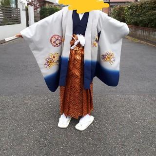 七五三 羽織袴 10点フルセット(和服/着物)
