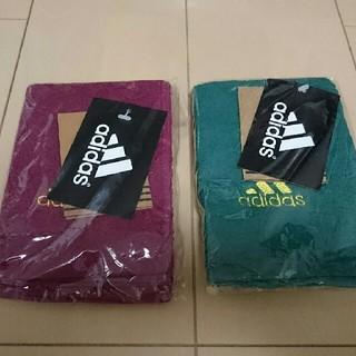 アディダス(adidas)のadidas ハンドタオル 2枚(タオル/バス用品)