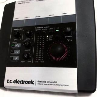 tc electronic Desktop Konnekt 6(オーディオインターフェイス)