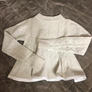 サカイラック(sacai luck)のsacai luck のニット(ニット/セーター)