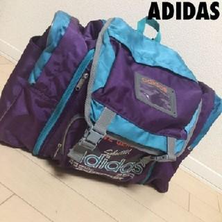 アディダス(adidas)の#1167 アディダス ADIDAS 90s ボックス ピクニック バッグ(バッグパック/リュック)