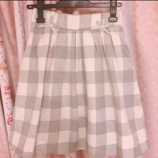 リズリサ(LIZ LISA)のLISLISA ギンガムチェックスカート(ひざ丈スカート)