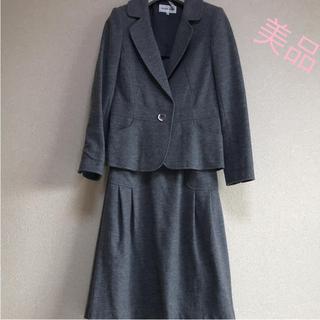 ハナエモリ(HANAE MORI)の☆美品☆ 森英恵  ウール100%スーツ(スーツ)