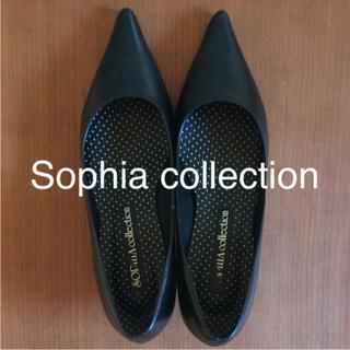 ソフィアコレクション(Sophia collection)の❤︎パンプス 23cm ブラック❤︎(ハイヒール/パンプス)