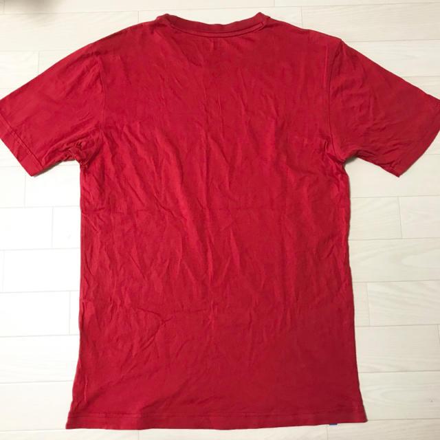 adidas(アディダス)のアディダスオリジナルス Tシャツ S〜Mサイズ メンズ 赤 ロゴマーク SB メンズのトップス(Tシャツ/カットソー(半袖/袖なし))の商品写真