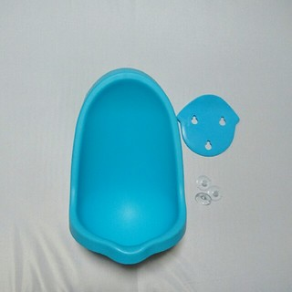 男の子用おまる ブルー おまる トイレトレーニング オムツ外し練習 小便器(ベビーおまる)