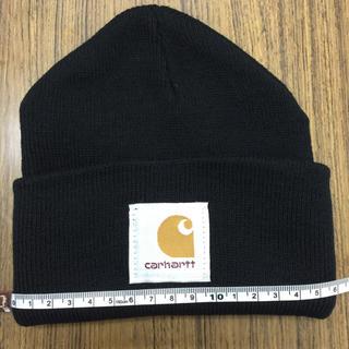 carhartt    ニット帽  サイズ17センチから25センチくらい