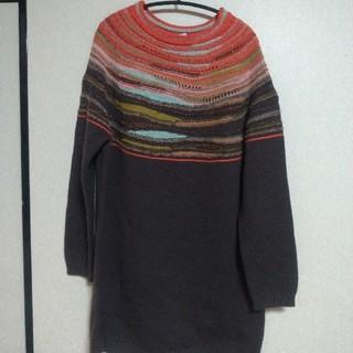 ミッソーニ(MISSONI)のミッソーニ チュニック丈 セーター(ニット/セーター)