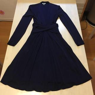 イッサロンドン(Issa London)のイッサロンドン キャサリン妃愛用 ドレス ブラック US4 UK8(ひざ丈ワンピース)
