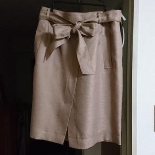 「大きいサイズ3L」フォーマル スカート セレモニー(ひざ丈スカート)