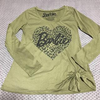 バービー(Barbie)のロングTシャツ(Tシャツ/カットソー(七分/長袖))