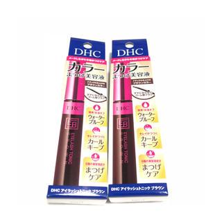 ディーエイチシー(DHC)のDHC カラーまつげ美容液 アイラッシュトニックブラウン 2点(まつ毛美容液)