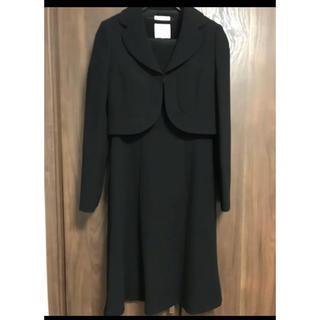 パーソンズ(PERSON'S)の【良品】喪服   ブラックフォーマル   7号 (礼服/喪服)