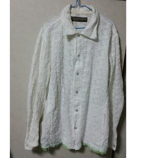 アユイテ(AYUITE)の【レア】刺繍入りホワイトシャツ(長袖)(シャツ)
