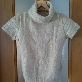 アンクライン(ANNE KLEIN)の【アンクライン】半袖セーター(ニット/セーター)