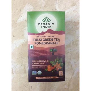 オーガニックインディア トゥルシー&ザクロ ハーブティ(茶)