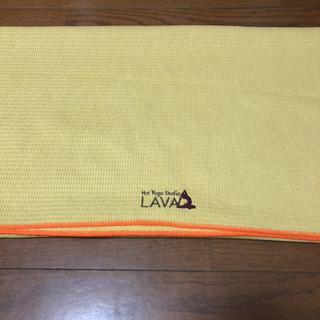 LAVA用タオル 2色(ヨガ)