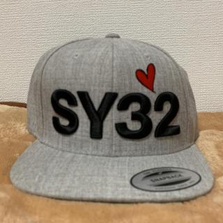 ジーユー(GU)のSY32 ストレートキャップ(キャップ)