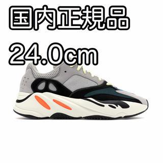 アディダス(adidas)の24.0cm adidas YEEZY BOOST 700 WAVE(スニーカー)