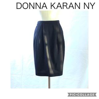 ダナキャラン(Donna Karan)のDONNA KARAN NY 黒 バルーンタイトスカート(ひざ丈スカート)