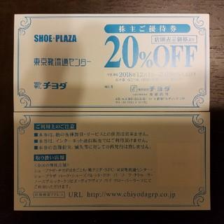 チヨダ(Chiyoda)の株式会社チヨダ株主優待券2枚 (ショッピング)
