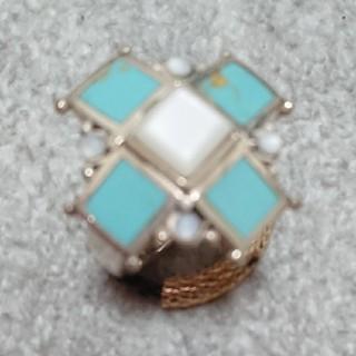 ソカロ(ZOCALO)のターコイズsilverリング(リング(指輪))