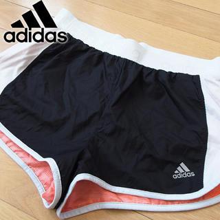 アディダス(adidas)の超美品 Lサイズ アディダス ランニング リバーシブル ショートパンツ(ウェア)
