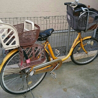 OGK - ママチャリ・子供乗せ・26インチ・自転車・OGK