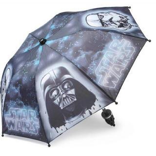 【未使用】STER WARS スターウォーズ 子供用折り畳み傘キッズ折りたたみ傘(傘)