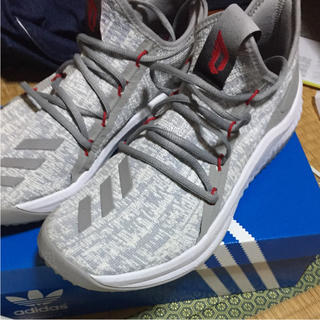 outlet store 4e9c1 9f9d1 アディダス(adidas)のadidas DAME D.O.L.L.A LGH ソリッドグレー(その他)