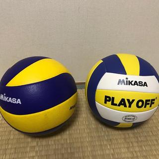 ミカサ(MIKASA)のMIKASA バレーボール 5号 2つ(バレーボール)