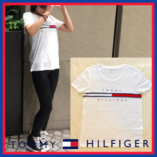 TOMMY HILFIGER - 日本未入荷☆ トミー ヒルフィルガー Tシャツ ロゴ