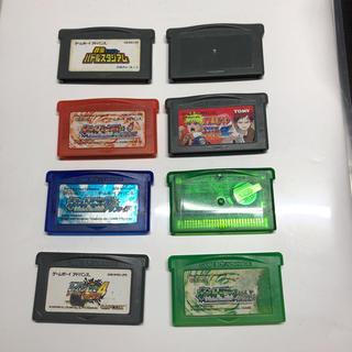 ゲームボーイアドバンス(ゲームボーイアドバンス)のゲームボーイアドハンス ソフト 8種類(携帯用ゲームソフト)