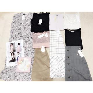 ダブルクローゼット(w closet)の週末限定価格!大人可愛い系♡ブランド服など12点まとめ売り!(セット/コーデ)