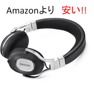 デノン(DENON)のDENON ヘッドホン ブラック AH-MM300(ヘッドフォン/イヤフォン)