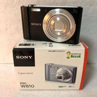 ソニー(SONY)のSONY デジタルカメラ Cyber-shot W810(コンパクトデジタルカメラ)