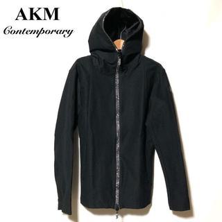 エイケイエム(AKM)のAKM Contemporary 迷彩切替 ラインストーンZIP メッシュパーカ(パーカー)