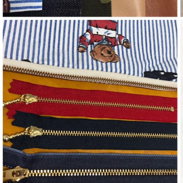 Ralph Lauren(ラルフローレン)のポロベア ハンドメイドポーチ ラルフローレン ヴィンテージシーツ ハンドメイドのファッション小物(ポーチ)の商品写真