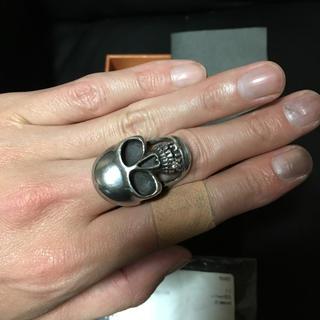アイファニー(EYEFUNNY)のEYEFUNNY Diamondスカルリング 17号(リング(指輪))
