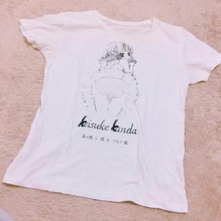 ケイスケカンダ(keisuke kanda)のバレリーナTシャツ(Tシャツ(半袖/袖なし))