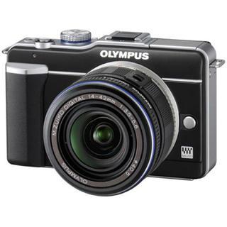 オリンパス(OLYMPUS)のオリンパス PEN ブラック 美品(デジタル一眼)
