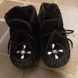 ジェモー(Gemeaux)の18.0cm 中はボアのブーツ(ブーツ)