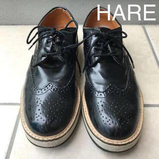 ハレ(HARE)の最終値下げです。HAREエナメルブーツ。(ブーツ)