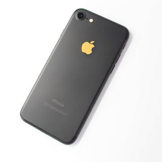 アップル(Apple)の【見本】iPhone 7 Black 32 GB 金蒔絵(スマートフォン本体)